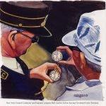 עובדי הרכבת מתאמים שעה בשעוני BALL בפרסומת של החברה. מקור - ויקיפדיה.