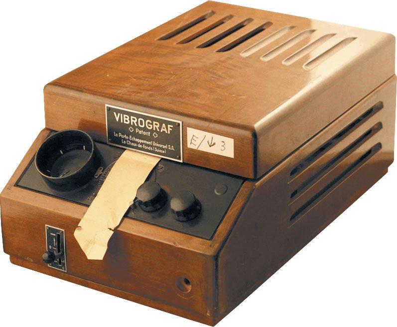מכשיר ה-WESTERN ELECTRIC. מקור - ברושור החברה.