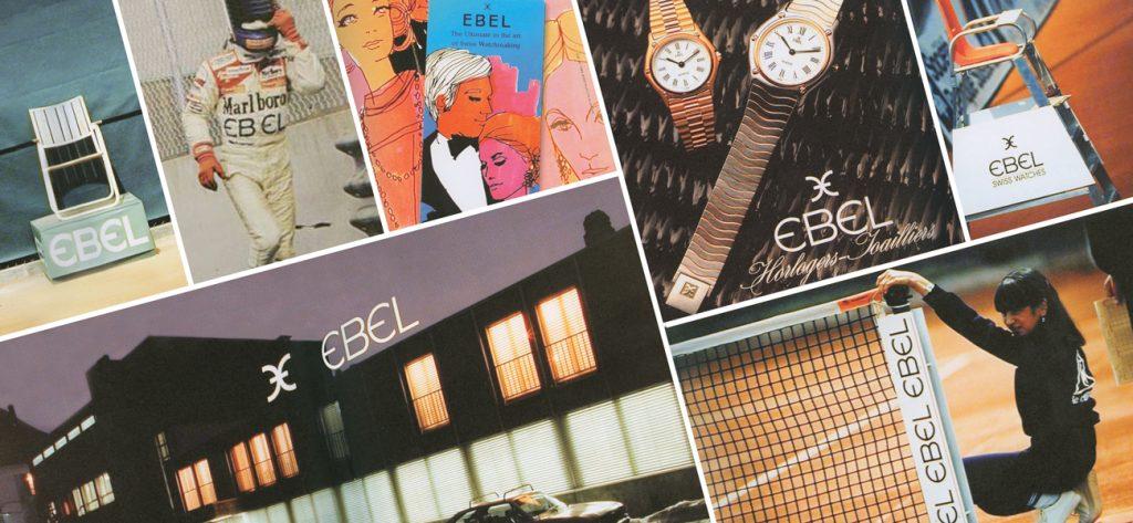 הלוגו של EBEL ברחבי העולם. מקור - אתר החברה.