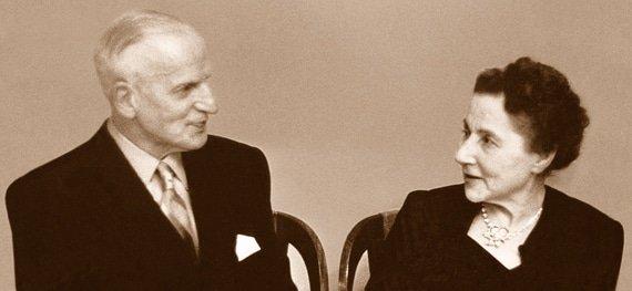 בני הזוג בלום, מייסדי EBEL. מקור - TIMESTICKING.