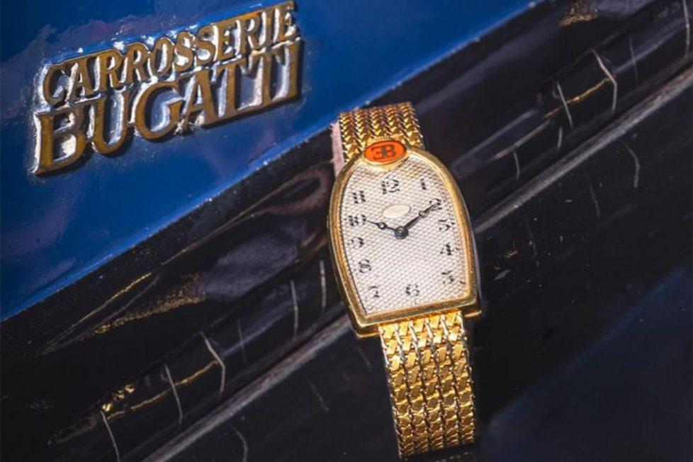 השעון של אטורה בוגאטי. מקור - Vintage Watch Story.