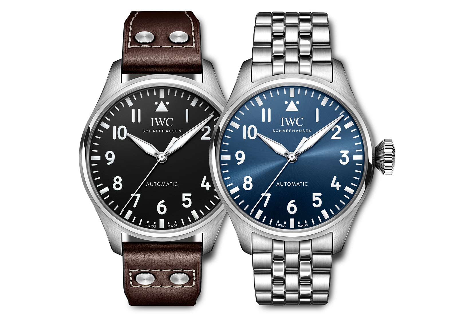 IWC ביג פיילוט 43. מקור - TimeandWatches.