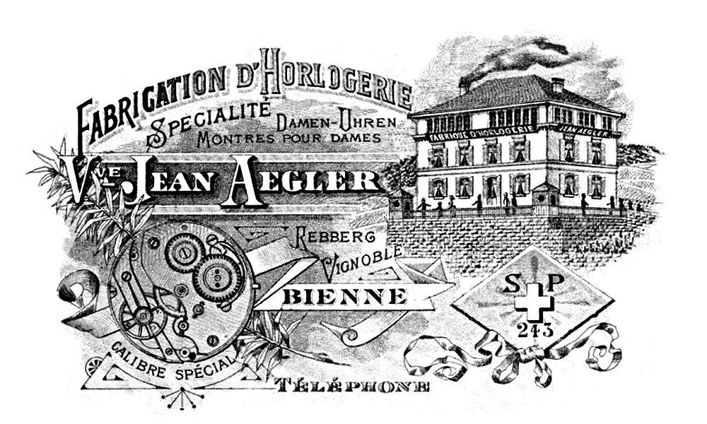 הסוד הגדול של רולקס. פרסומת של אגלר משנת 1881. מקור - VintageWatchStraps.