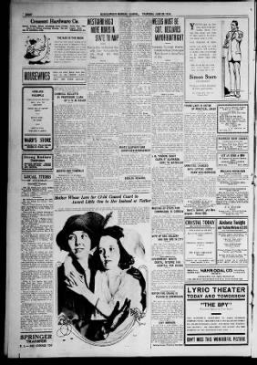 ההיסטוריה של שעונים ומלחמות. עותק של הז'ורנל של אלבקרקי משנת 1914. מקור - NEWSPAPERS.COM.