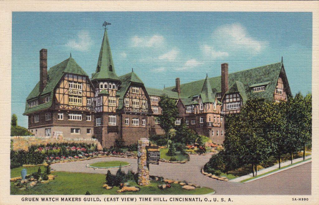הבניין המיוחד של החברה בסינסינטי, שקיים עד היום. מקור - ויקיפדיה.