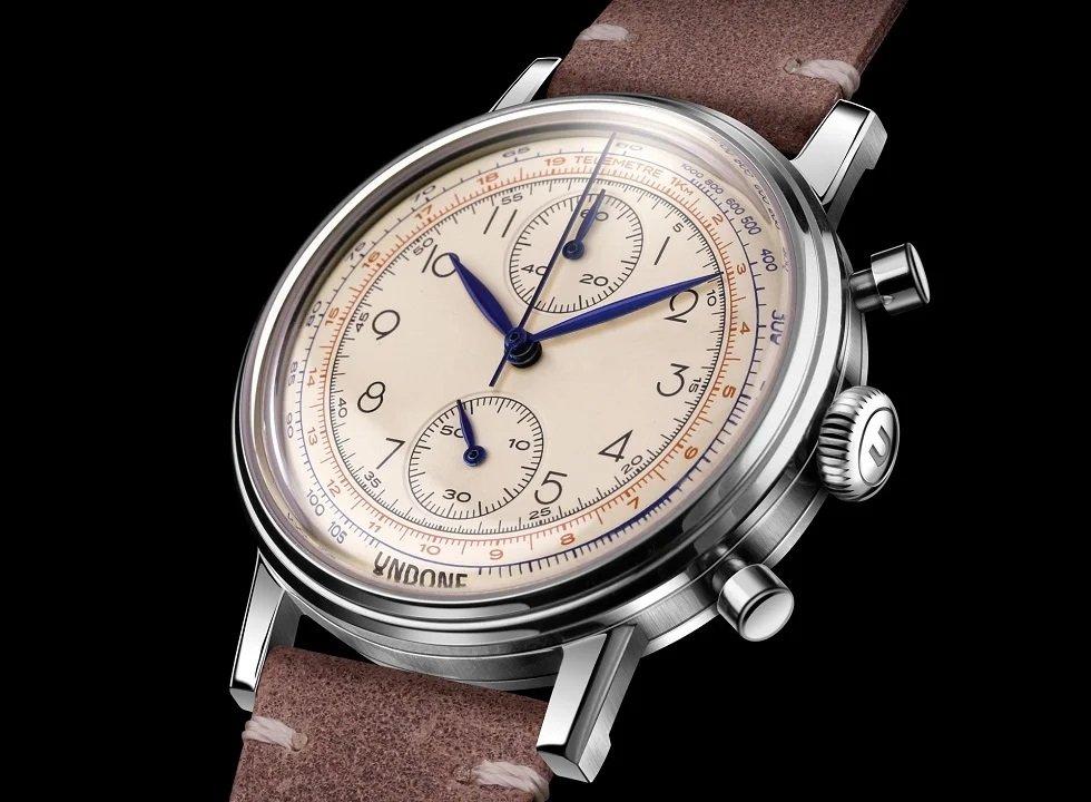 השעון הראשון של UNDONE WATCHES. מקור - פרויקט הקיקסטארטר.