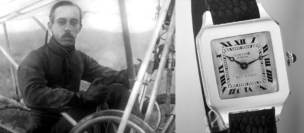 ההיסטוריה של שעונים ומלחמות - אלברטו סנטוס ושעון היד שלו. מקור - HOROBOX.