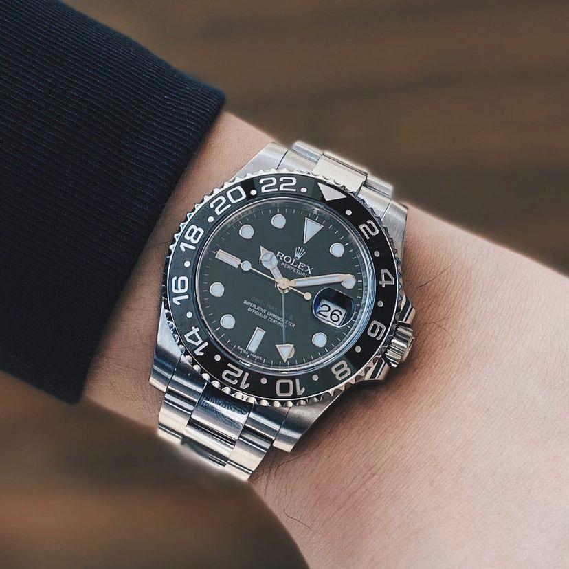 רולקס GMT MASTER II. מקור -timepiece.id (אינטסגרם).