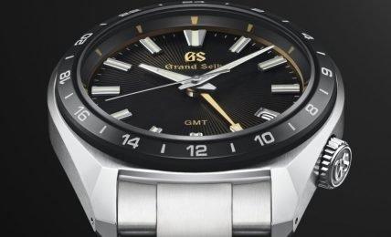 הלוח המיוחד של ה-SBGN023 קוורץ GMT. מקור - WATCHILOVE.