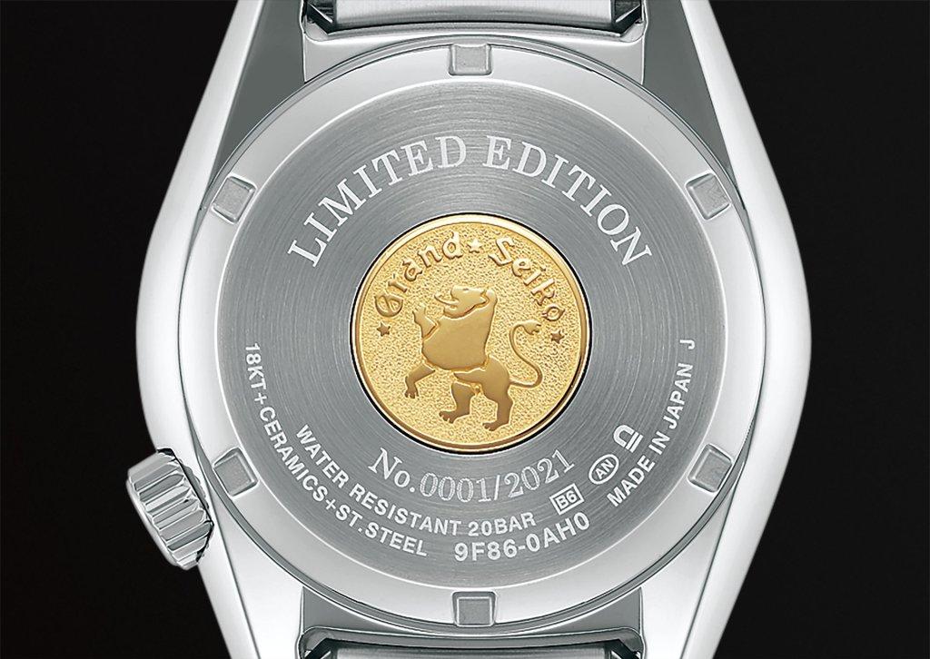 גב השעון של המהדורה המוגבלת בסדרה. מקור - WATCHILOVE.