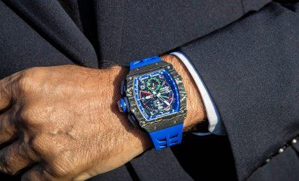 שעון הריצ'רד מיל של רוברטו מנצ'יני. מקור - HOROBOX.