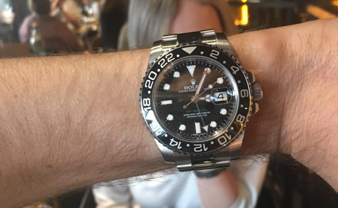 רולקס GMT MASTER II LN116710.