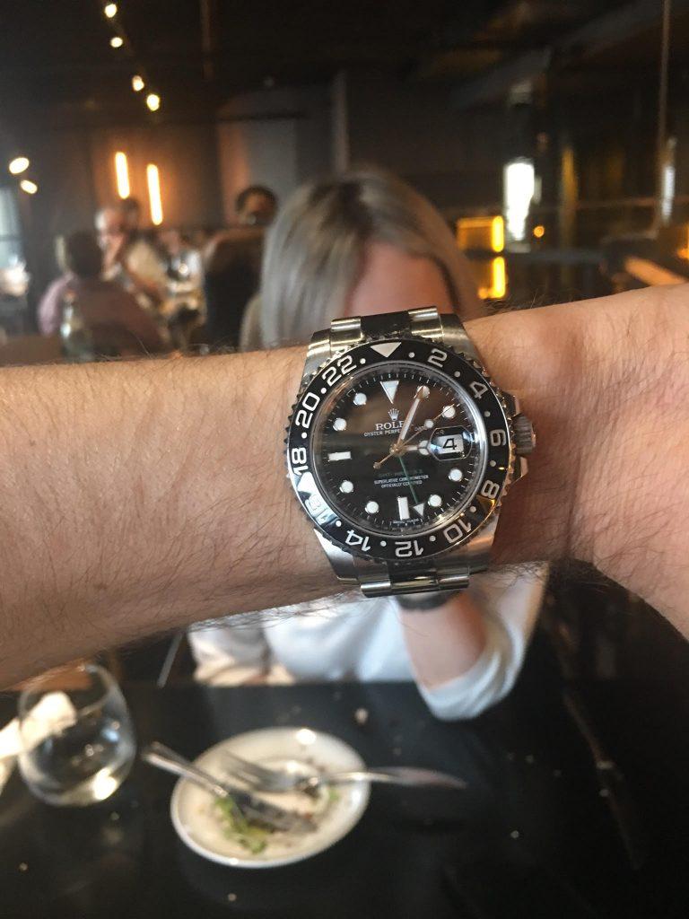רולקס GMT MASTER II 116710LN.