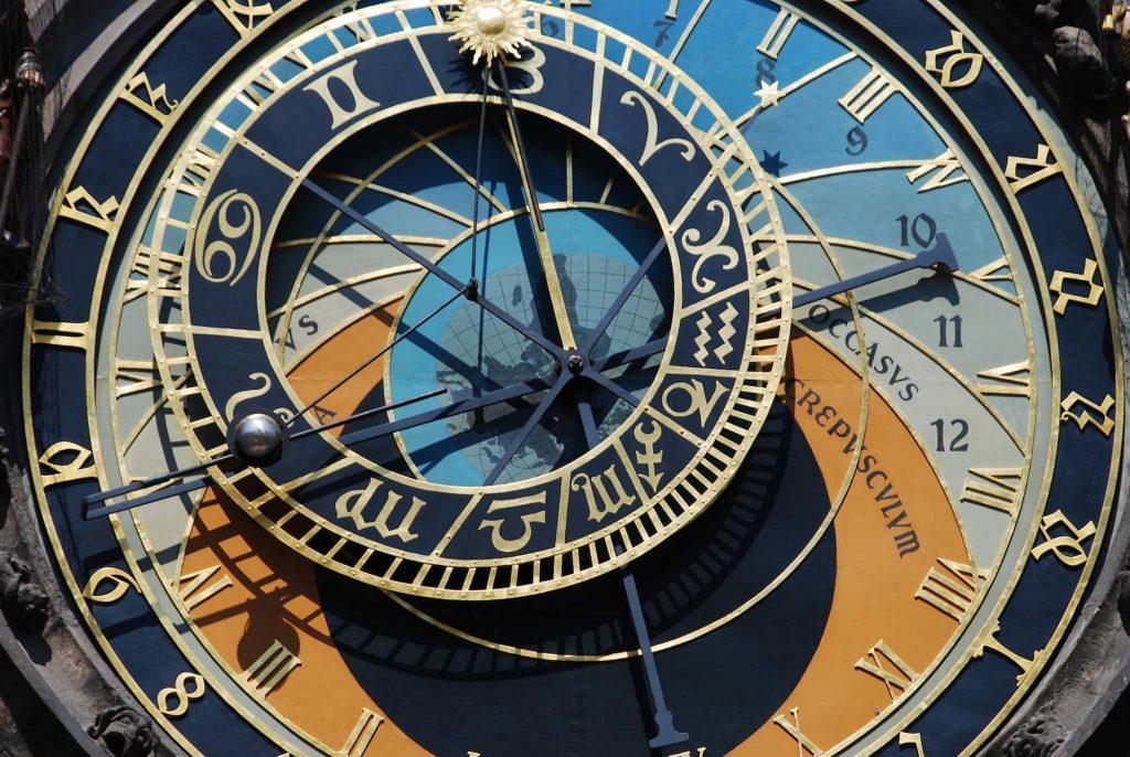 השעון האסטרולוגי של פראג. מקור - WornandWound.