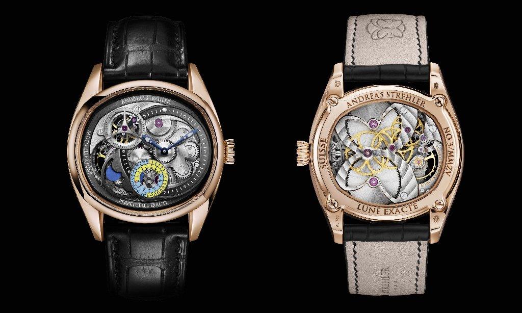 שעון ה-Lune exacte של אנדראס שטרלר - שעון המון פייז המדויק ביותר בעולם.
