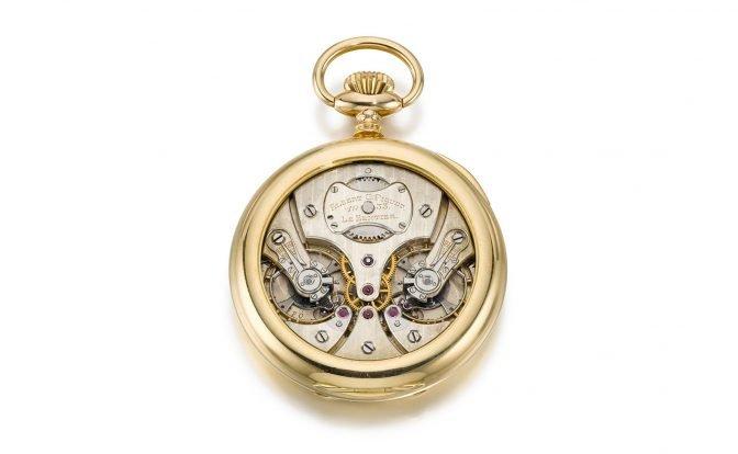 שעון היד של אלברט גוסטב פיגה. מקור - Watchesbysjx.