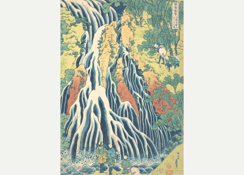 היצירה המקורית של הוקוסאי. מקור - WAtchilove.