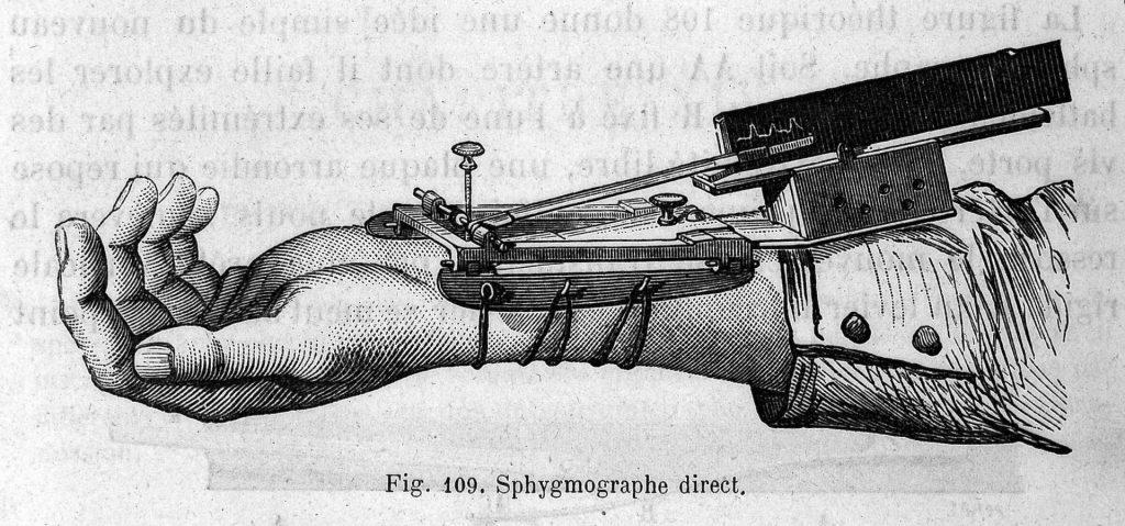 מכשיר הספימוגרף. מקור - ויקיפדיה.