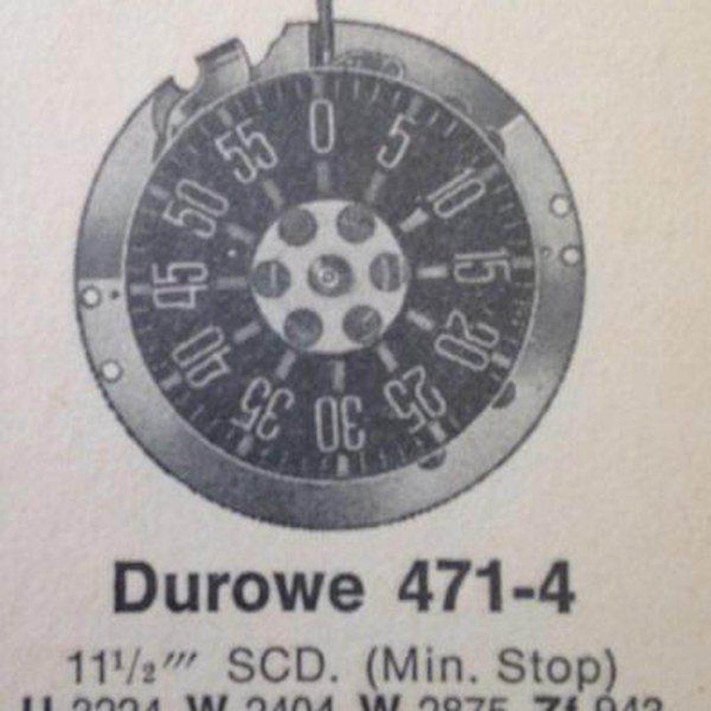 Durowe-Laco וקומפליקציית מד חניה - מנגנון שעון מד חניה של דורווה. מקור - Fratello Watches.