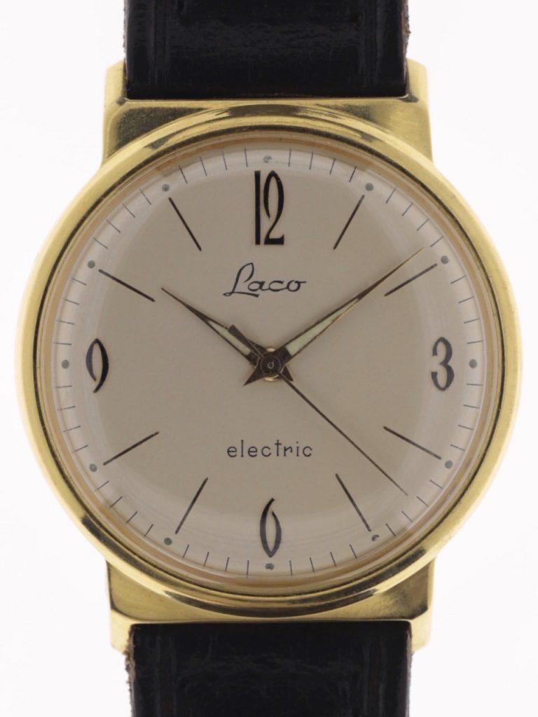 שעון ה-LACO ELECTRIC. מקור - Joseph-Watches.