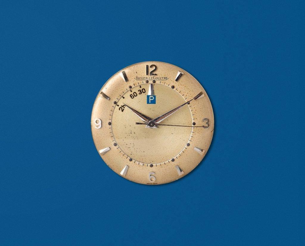 שעון מד חניה של יגר לה קולטרה. מקור - A Collected Man.