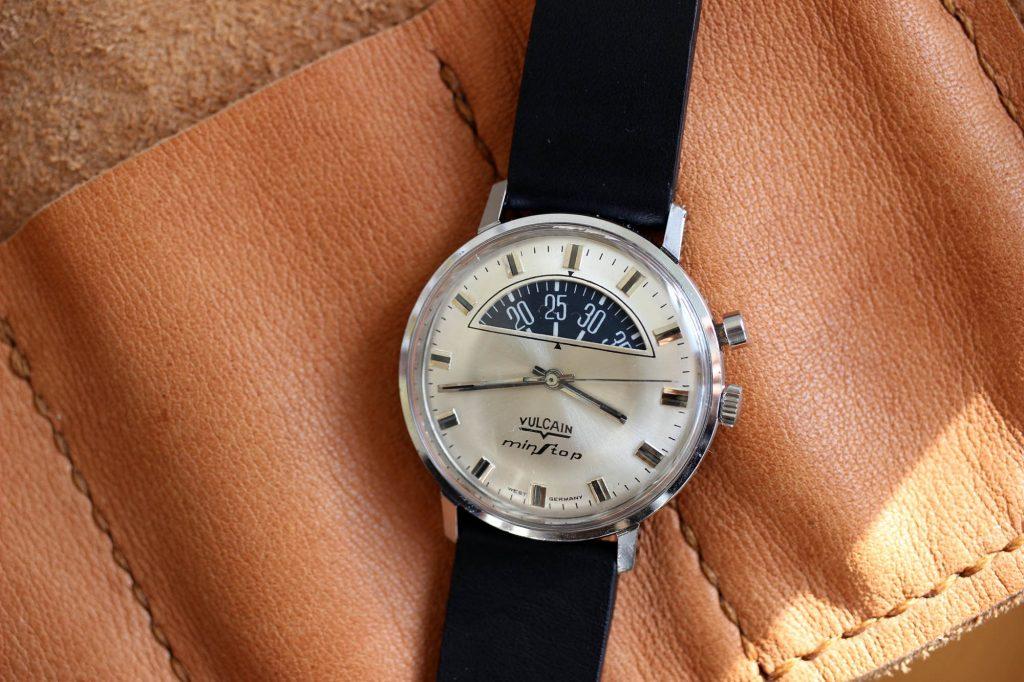 Durowe-Laco וקומפליקציית מד חניה - שעון וולקיין עם מנגנון של דורווה. מקור - Fratello.