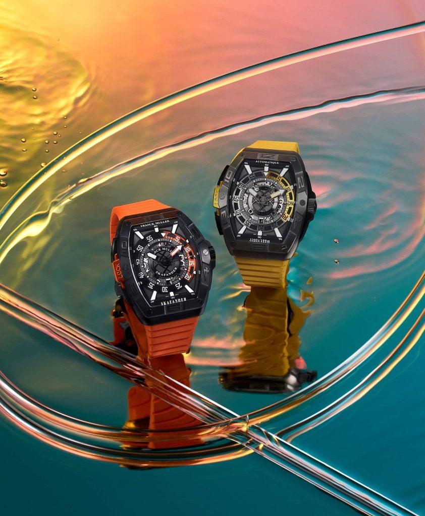 רצועות צבעוניות בצבע התואם לבזל הצלילה. מקור - Watchilove.