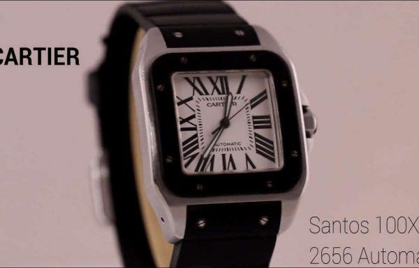 קרטיה סנטוס XL 100 אוטומטי 2656 Cartier Santos 100 XL Automatic