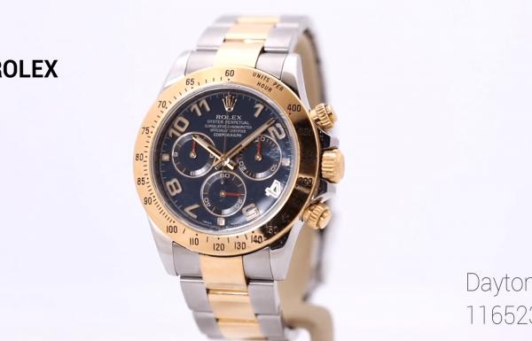 רולקס דייטונה טוטון זהב ופלדה 116523 Rolex Daytona Two-tone Gold & Steel