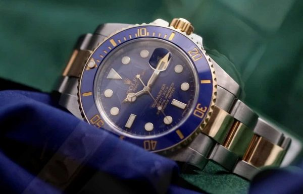 "רולקס סאבמרינר טוטון  ""דרדס כחול"" 116613 ""Rolex Submariner Two-tone ""Blue smurf, סקירת דגם מאת שי חי"