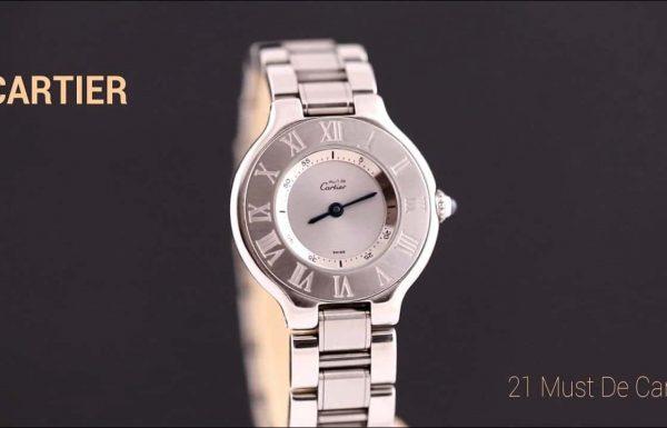 קרטיה מאסט 21  פלדה Cartier must 21  Ladies Steel