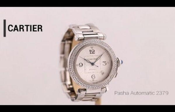קרטייה פאשה משובץ יהלומים 2379 Cartier Pasha With Diamonds Ref