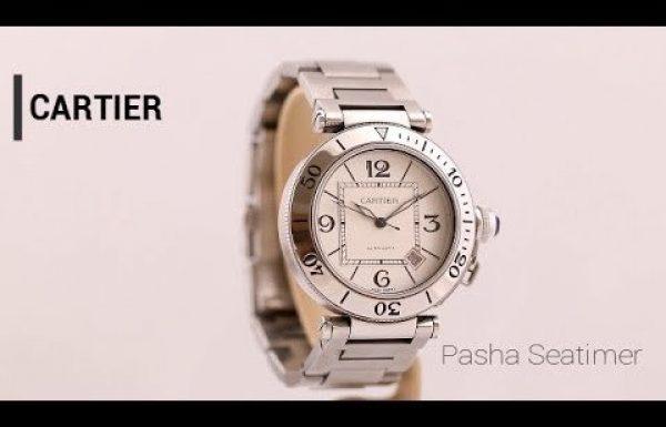 קרטיה פאשה סיטיימר 2910 Cartier Pasha Seatimer Ref
