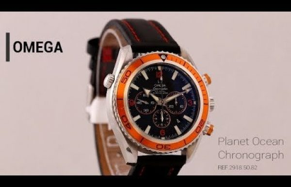 אומגה פלאנט אושן כרונו כתום 2918.50.82 Omega Planet Ocean Chrono Orange