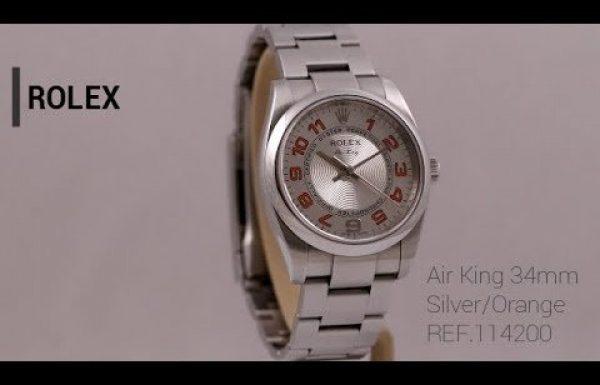 """רולקס איירקינג 34 מ""""מ דגם 114200 Rolex AirKing Midsize"""