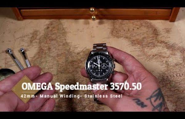 אומגה ספידמאסטר מון-ווטש 3570.50 Omega Speedmaster Moon watch – סקירת וידאו מאת שי חי