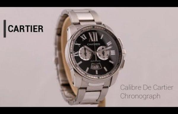 קרטיה קליבר כרונוגרף פלדה 3578 Cartier Calibre Chronograph