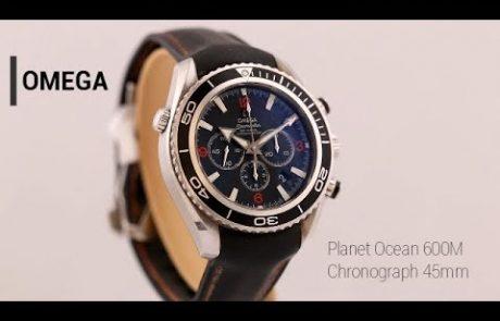 אומגה פלאנט אושן כרונו 2910.51.82 Omega Planet Ocean Chronograph
