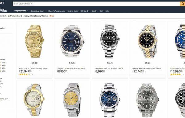 האם כדאי לרכוש שעוני יוקרה באמזון?