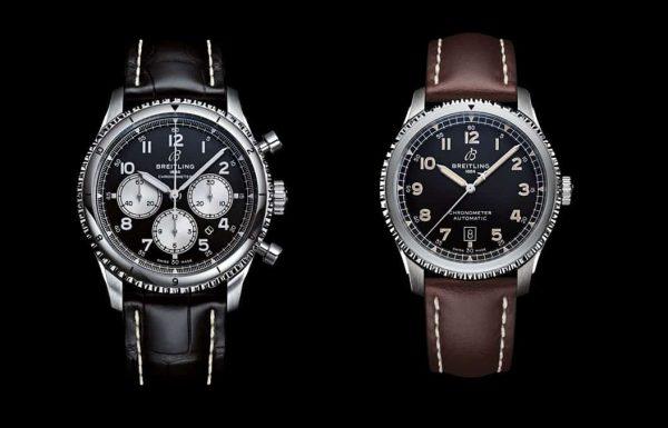 2 שעונים חדשים בסדרת ה-Navitimer Aviator 8 של ברייטלינג