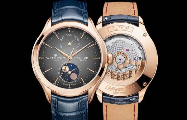 קליפטון באומטיק דיי-דייט מון-פייז – שעון חדש מבית בום מרסייה