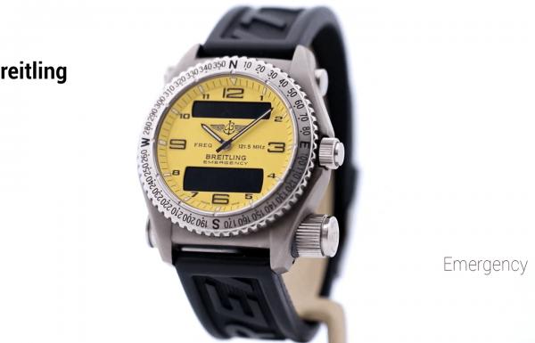 ברייטלינג אמרג'נסי לוח צהוב Breitling Emergency Yellow Dial E56121.1
