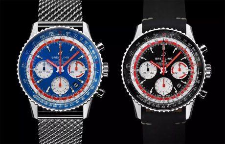 ברייטלינג משיקה זוג שעונים בסדרת ה-Navitimer 1 Airline