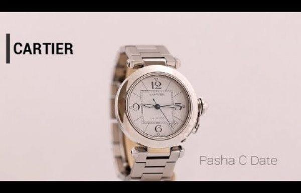 קרטייה פאשה סי דייט 2324 Cartier Pasha C Date Ladies Ref