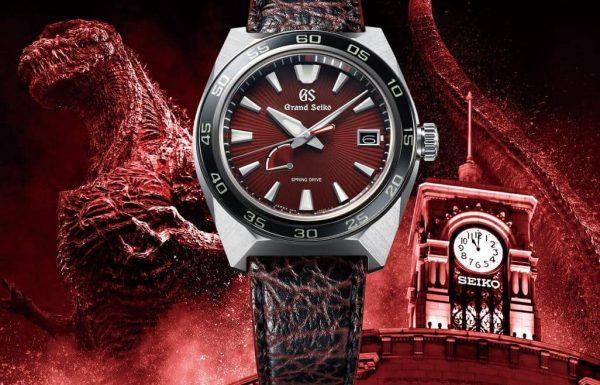גרנד סייקו משיקה זוג שעונים עם לוחות בצבע אדום לוהט