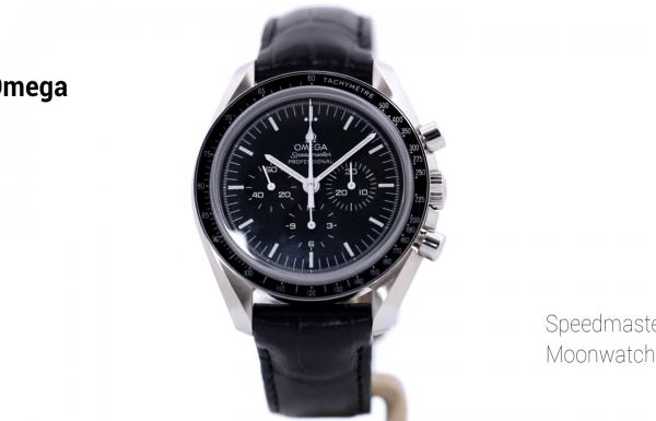 אומגה ספידמאסטר מון ווטש גב שקוף 31130423001006 Omega Speedmaster Moonwatch Clear Caseback