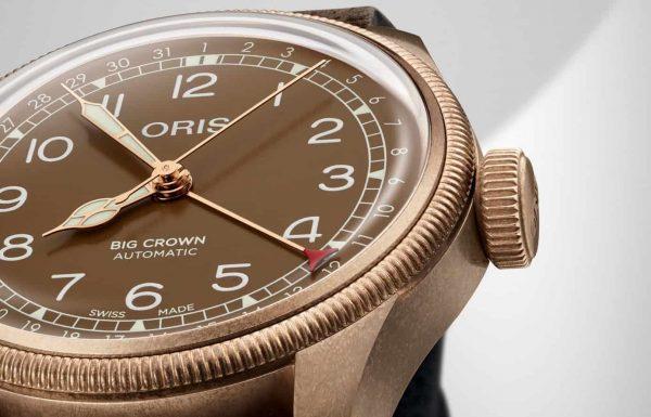 אוריס משיקה את ה-Big Crown Bronze Pointer Date 40mm