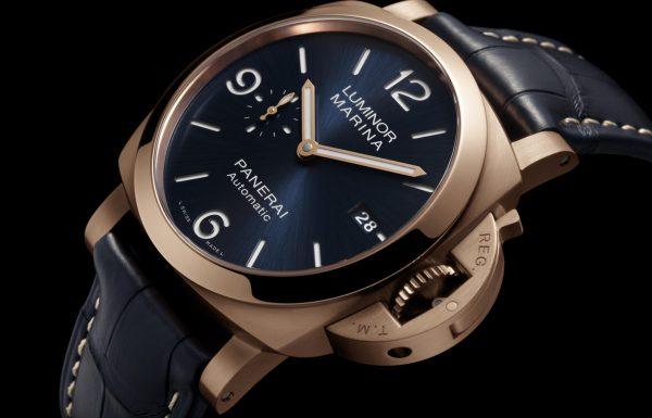שעונים נוספים בקולקציית לומינור מרינה של פנריי עם סגסוגות מתקדמות