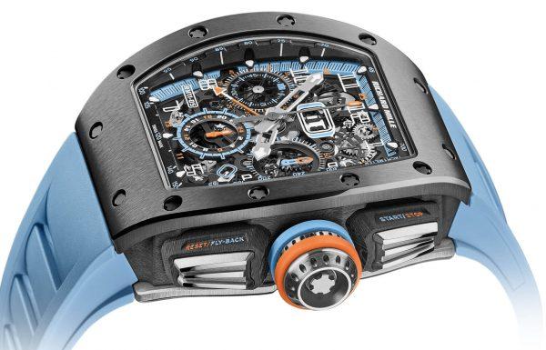 ריצ'רד מיל RM 11-05 – שעון GMT מחומר חדש