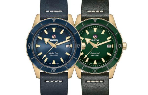 ראדו קפטן קוק ברונזה – 3 שעונים חדשים מראדו